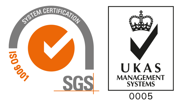Accreditations ISO9001 SGS