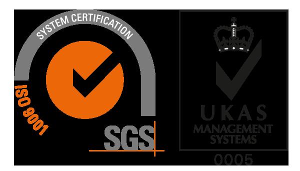 Accreditations ISO9001 SGS